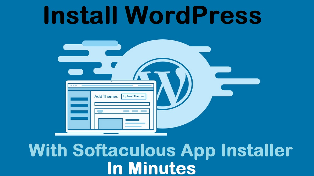 Install WordPress With Softaculous From Scratch On Hosting First look of WP Website Beginners Guide