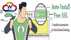 "How To ""Install Auto SSL Certificate In cPanel"" Run Hassle-Free 2021 – WebHostNoLimit.Com"