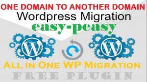 How to Migrate Website From One Domain to Another Domain WordPress Migration Easy-Peasy Move Free