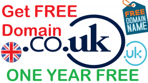 Get Free Domain .UK .CO.UK For One Year Get Free Unlimited Domains Grab One For Yours Tech Revealed