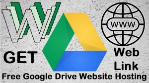 How to Host a Website in Google Drive with Link Address to Get Access From Anywhere Unlimited Free