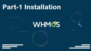 WHMCS Complete Starter Guide Configuration Settings Server Connection Modules Packages Setup part-01