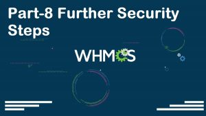 WHMCS Complete Starter Guide Configuration Settings Server Connection Modules Packages Setup part-08